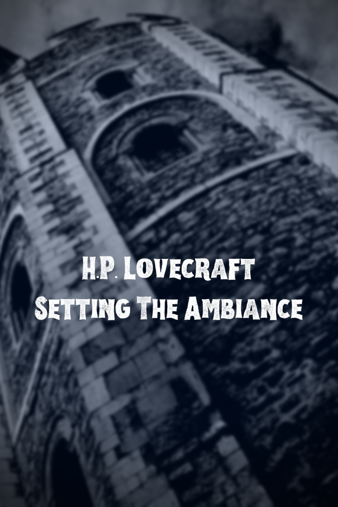 HP Lovecraft | Amber Morant | Fantasy Author